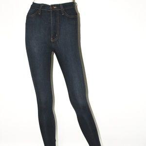 Classic High Waist Indigo Skinny Jean